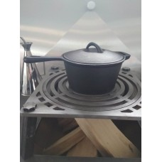 Litinový rendlík rustikální ø 19 cm