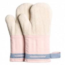 Kuchyňské rukavice Premium růžové (pár)
